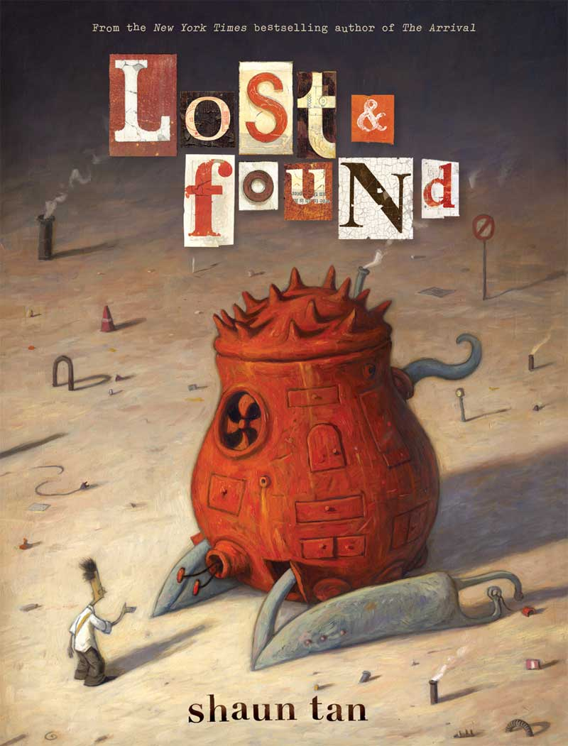 the lost thing shaun tan belonging Shaun tan's the lost thing from book to film shaun tan wrote the book the lost thing and also wrote and directed the film if you met shaun tan, what are some of the.