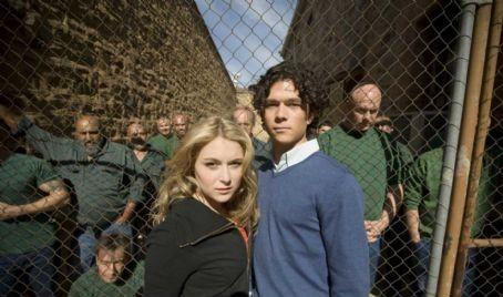 Luke Arnold as Tommy McAlpine and Alexa Vega as Kat Rogers in Audience Alliances musical drama Broken Hill. Image: Matt Nettheim