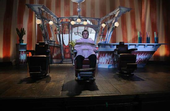 Barbershop Jack : film} The Muppets omphaloskepsis