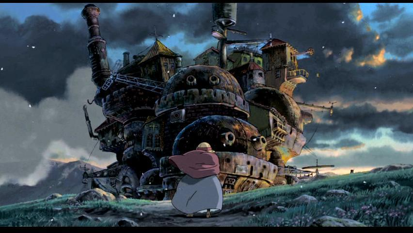 {film+book} howl's moving castle