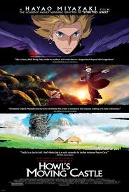 howl's moving castle moving poster