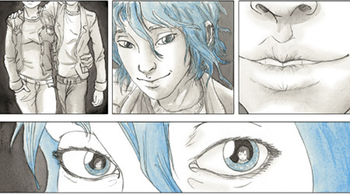 comic} blue is the warmest color