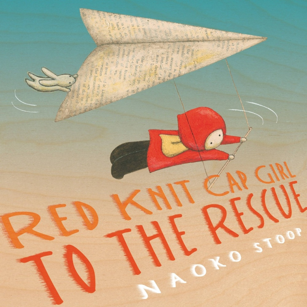 red knit cap girl to the rescue cover