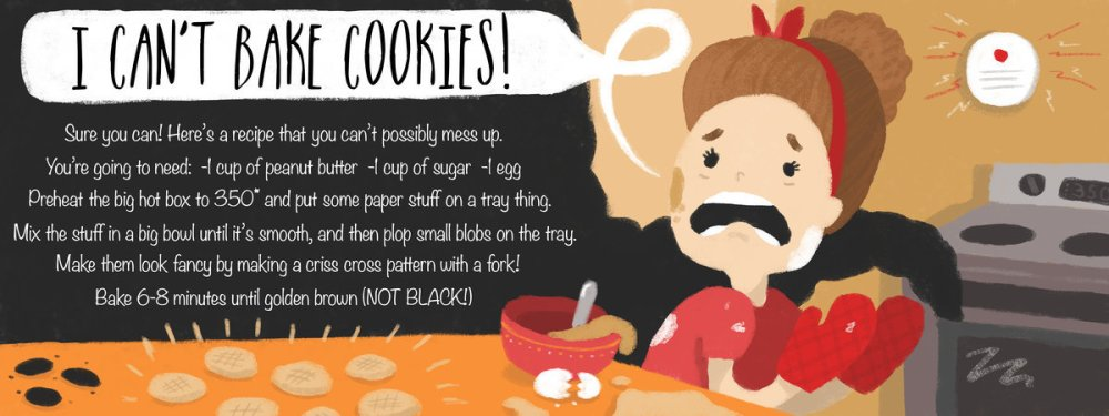 I Can't Bake Cookies! by Alexis Watters