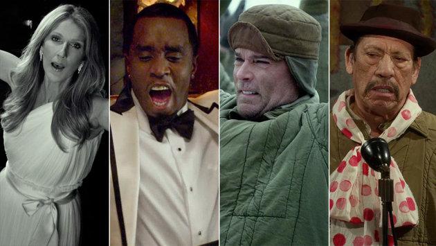 Celine Dion, Sean Combs, Ray Liotta, Danny Trejo