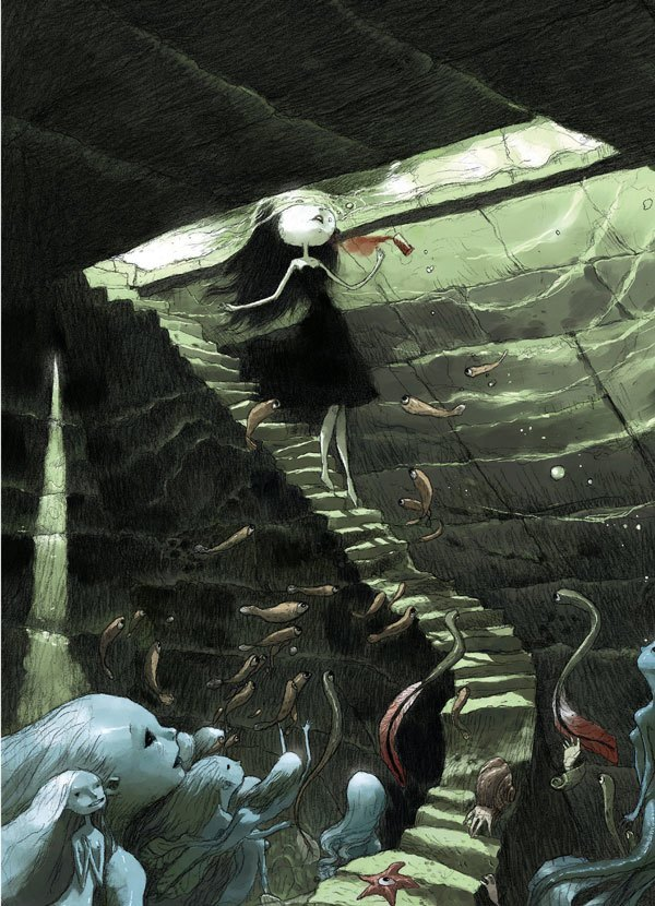 water snakes interior 2