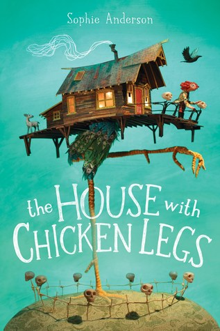 house with chicken legs cover
