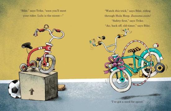 bike trike interior 2